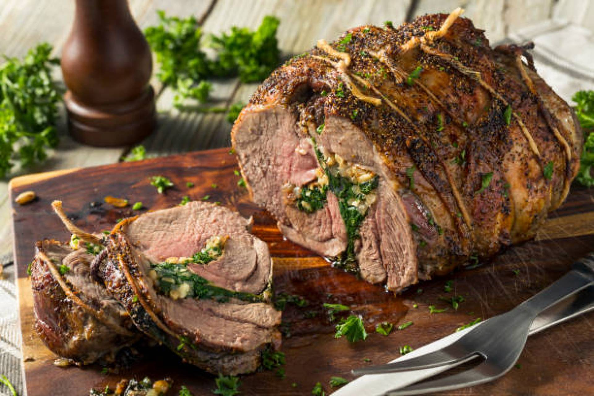 Easter Protein - Roast Herb Lamb - One Pound
