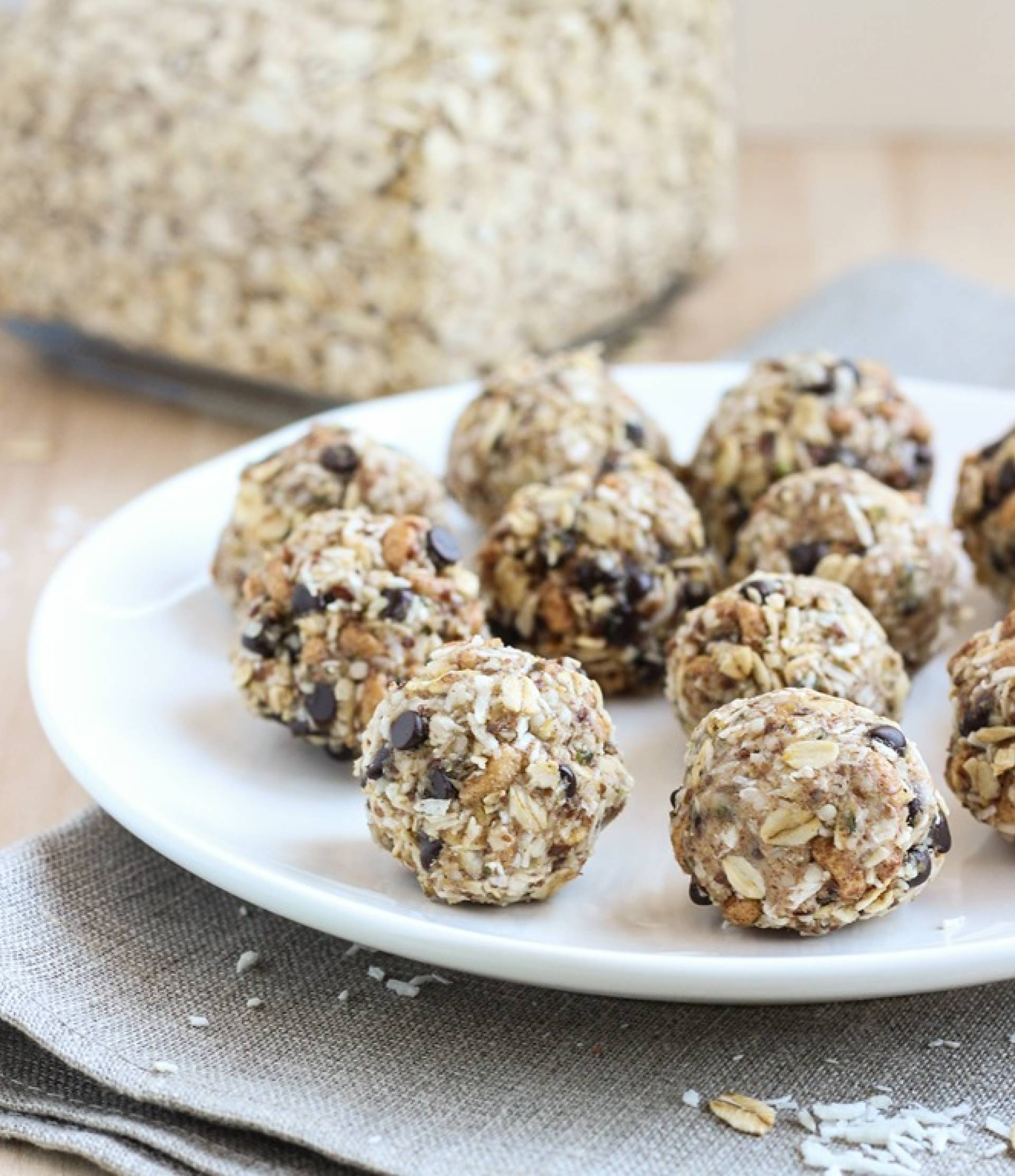 YUMMY Almond Joy Date Truffles