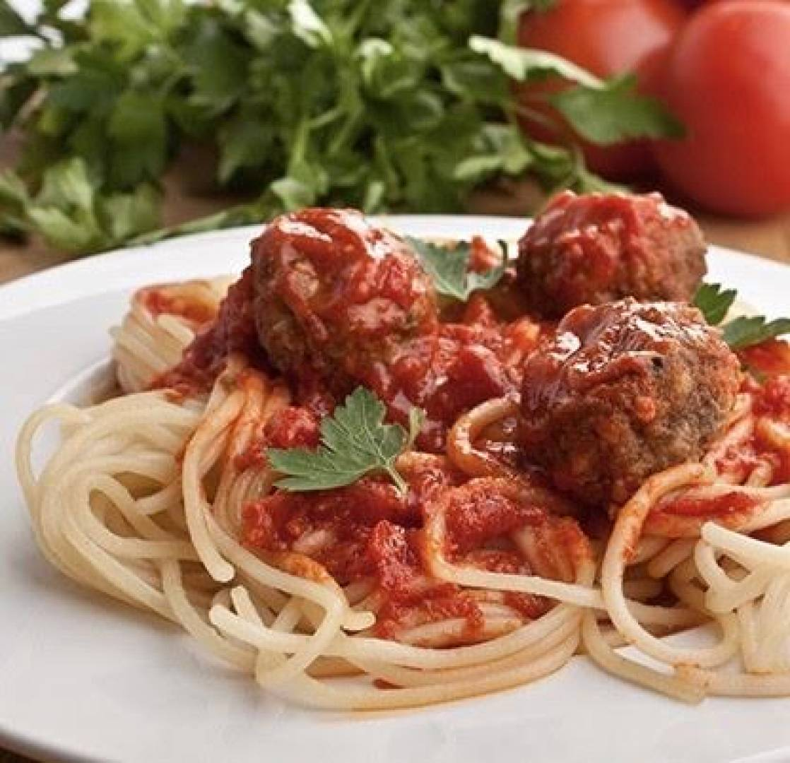 Mini Meals- Kids Spaghetti and Turkey Meatballs