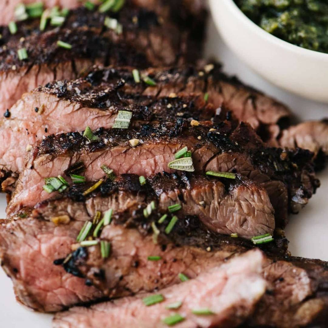 Protein Boost- 1lb Grilled Marinated Flank Steak